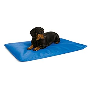 K&H Cool Bed III Cooling Dog Bed, Small, 17-Inches by 24-Inches, Blue
