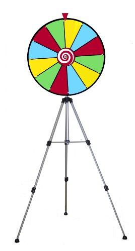 "Floor Model 24"" Dry Erase Prize Wheel"
