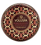 Voluspa Pomegranate Patchouli 2 Wick Maison Metallo Candle 11 oz