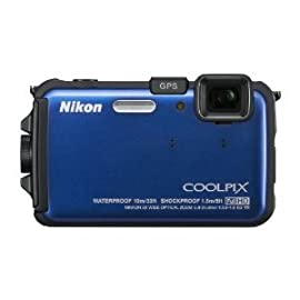 Nikon COOLPIX AW100 Waterproof Digital Camera