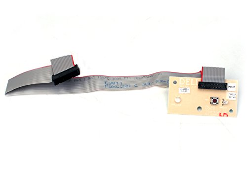 Genuine Dell P1925 Y1225 Optiplex Gx 260 Gx270 Gx280 Front Panel Power Button Led Board Cable Assembly Compatible Part Numbers: P1925, Y1225, 3J348