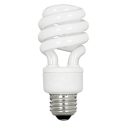Utilitech 4-Pack 13-Watt (60W Equivalent) 3,500K Spiral Medium Base (E-26) Bright White CFL Bulb ENERGY STAR (Utilitech Bulbs compare prices)