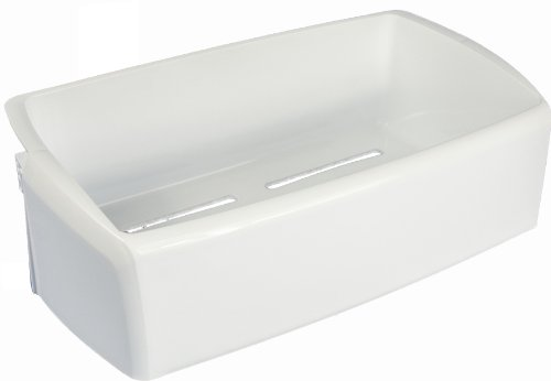 LG Electronics MAN62069201 Refrigerator Door Shelf/Bin, White (Lg Refrigerator Bin compare prices)