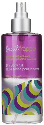Upper Canada Soap Fruit Frappe Dry Oil Body Spray, Passion Fruit with Noni, 10-Ounce