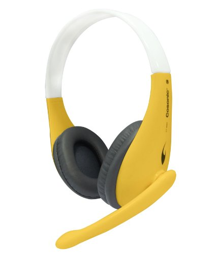 Cosonic Ct-650 High-Quality Super Heavy Bass Stereo Surround Pc Headphones Computer Headsets Gaming Headsets Pc Earphone With Microphones (Yellow)