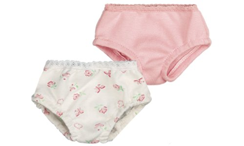 Pink & Print Doll Underwear Set, Fits 18 Inch American Girl Dolls, Doll Panties Set Amazon.com