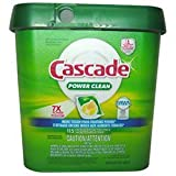 Cascade Fresh Scent Power Clean Dishwashing Detergent Action Pacs, 115 Count