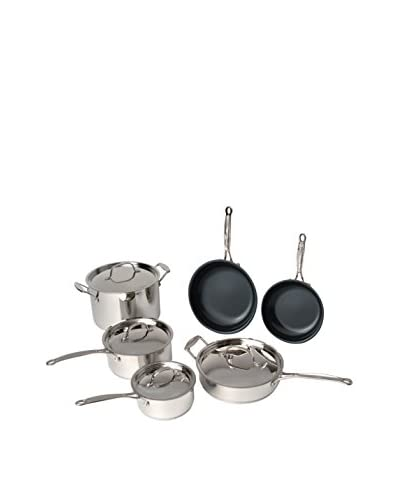 BergHOFF Earthchef 10-Piece Non-Stick Cookware Set, Silver