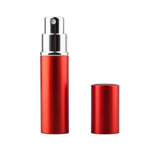 Trixes Bottiglia per Dopobarba Spray Riempibile da 5 ml Rossa