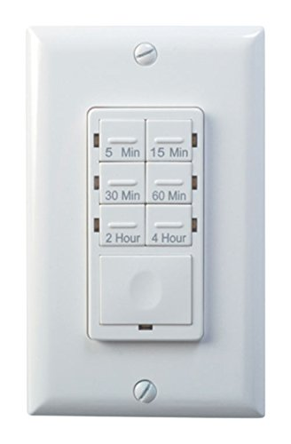 Woods 59724 In-Wall 4-Hour Countdown Timer, White