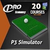 P3proswing Portable Golf Simulator Courses