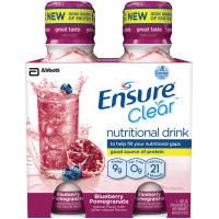 Ensure Clear Blueberry Pomegranate Nutritional Drink, 10 Oz (Case Of 3)
