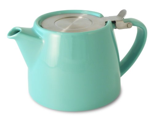 Why Should You Buy FORLIFE Stump 18-Ounce Teapot with SLS Lid and Infuser, Turquoise