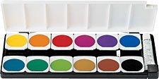 Art Supplies 720854 Pelikan Opaque Watercolors Set, 12 Color by Pelikan