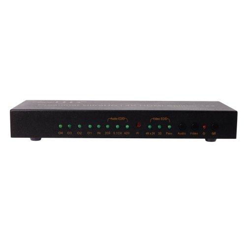 Viewhd Hdmi Splitter (Ultra Hd / 4K Prosumer Hdmi 1X4 Splitter | Vhd-Pro1X4I)