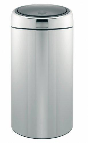 Brabantia Touch Bin Deluxe, 45 Litre, Brilliant Steel
