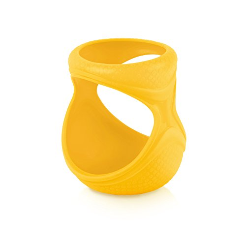 JOOVY Boob Silicone Sleeve, Yellow, 5 Ounce