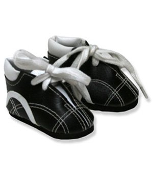 Black and White Tennis Shoes - 16005 - 1
