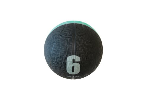 SPIN Fitness® Commercial Grade Med Ball 6 lbs. (Commercial Fitness compare prices)