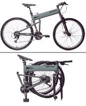 "Montague 20"" Paratrooper Military Folding Mountain Bike"