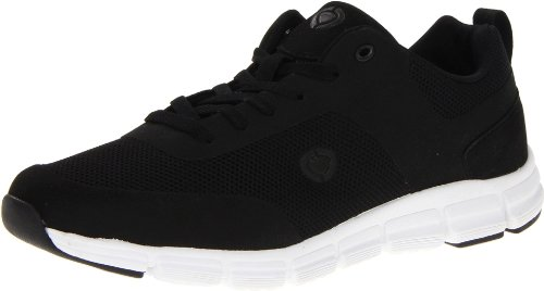 C1RCA Men's Sigma Fashion Sneaker,Black/White,10 M US
