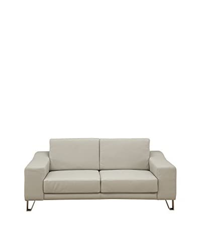 Whiteline Martini Love Seat, Grey