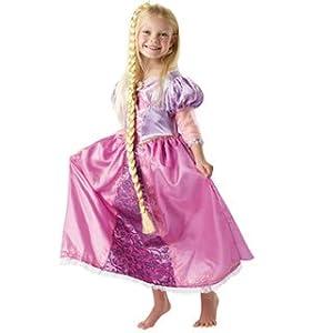 Disney - I-884492L - Déguisement - Costume de Luxe Raiponce + Tresse - Taille L