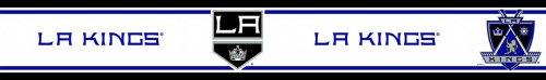 NHL Los Angeles Kings Hockey Self-Stick Wall Border Roll