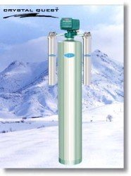 Crystal Quest Whole House Acid Neutralizing 1.5 Water Filter System (Stainless Steel)-- (Package Of 5)