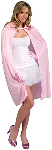 Forum Novelties 45-Inch Pink Cape, Pink, One Size - 1