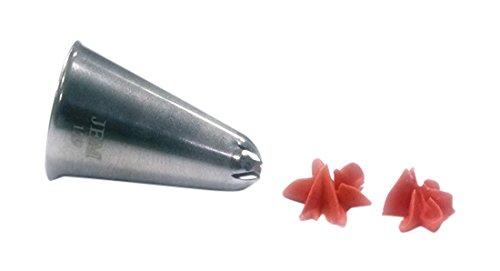 JEM Number 129Drop Blume Nozzle Tip, silber