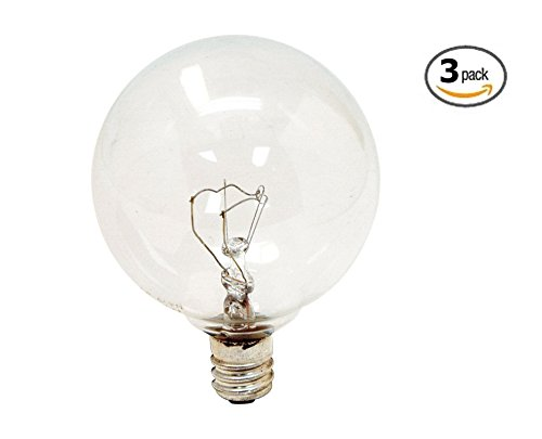 Scentsy 25W Replacement Bulbs for Full-Size Scentsy Warmers (Pack of 3) (Lightbulb For Scentsy compare prices)