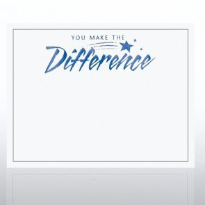 You Make the Difference - White : Blank Certificates : Office Products