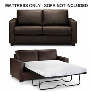 Sale lifetime sleep products premium memory foam sofa for Buy sofa bed mattress replacement