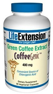 Life Extension CoffeeGenic Green Coffee Extract,