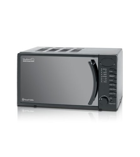 Russell Hobbs RHM1714B 17 Litre Piano Black Microwave Oven
