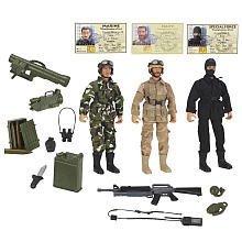 True Heroes Combat Team 10 Inch Action Figure 3-Pack