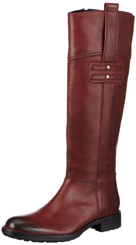 Buffalo London 1001-4 N COW Boots Womens Red Rot (BURGUNDY 01) Size: 6 (39 EU)