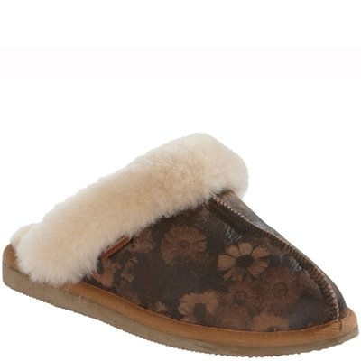 Shepherd Woman Slippers Lina Flower/White 36