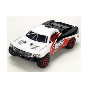 1/24 4WD Short Course Truck RTR: White/Red/Black