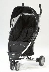ZIA 'BLACK' pushchair