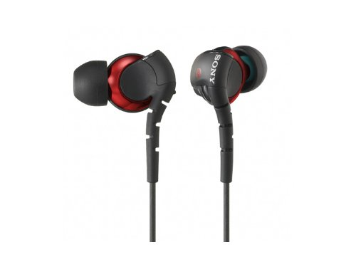 Sony Stereo Headphones Mdr-Ex310Sl Red | Closed Dynamic Inner Ear Receiver (Japan Import)