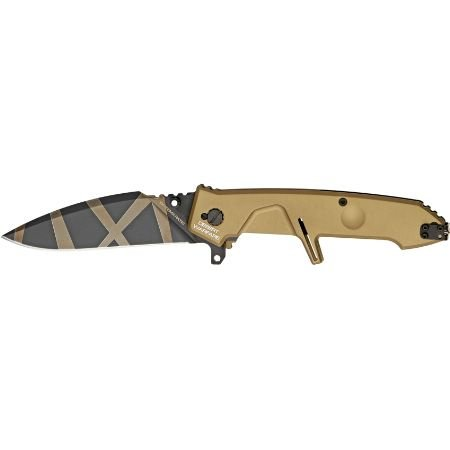 Extrema Ratio Knives 133Mf2Dw Mf2 Desert Warfare Linerlock Knife With Desert Warfare Finish Aluminum Alloy Handles
