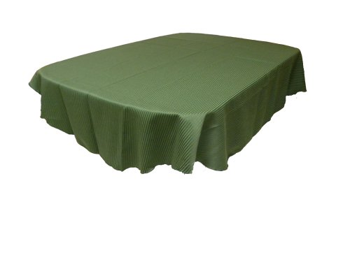 "Sebastien & Groome Picket Fence Tablecloth,Pine (Dark Green) 60"" X 84"" Oblong"