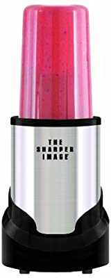 The Sharper Image Stainless Steel 15-Piece Set Multi Blender, Hi Speed 300-Watt Personal Countertop Blender Mixer System by E.Mishan & Sons, Inc.