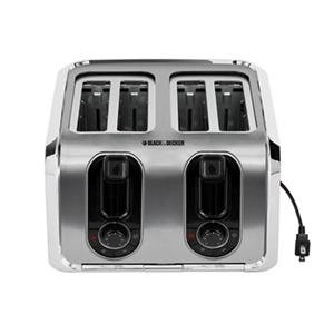 Black & Decker TR1400SS 4-Slice Stainless-Steel Toaster at Sears.com
