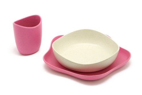 Becothings Becofeeding Eco Friendly Feeding Set (Pink)