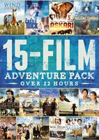 15-film Adventure Pack from Platinum Disc