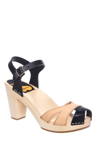 Suzanne High Heel Ankle Strap Sandal