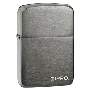 Zippo Black Ice 1941 Replica Lighter With Zippo Logo Lighter